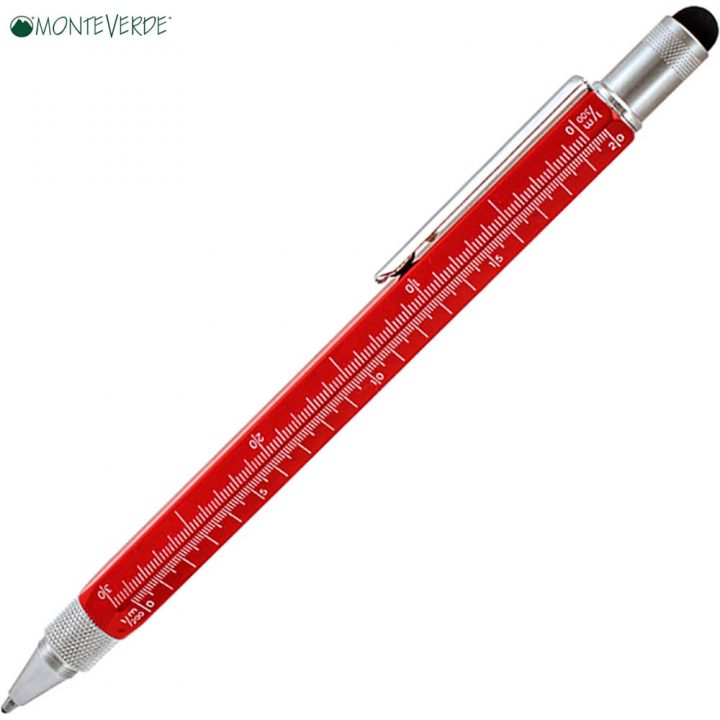 stylo-monteverde-tool-pen-diarkeias-kokkino