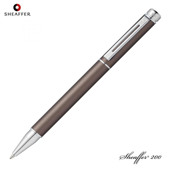Sheaffer-stylo-200-Metllic-grey-Rollerball-91541
