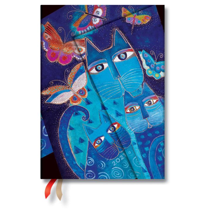 hmerologio-paperblanks-2021-evdomadiaio-blue-cats-butterflies-midi-13x18-de68389